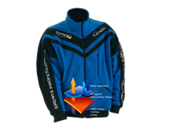 SPRO-bunda-Fleece-modrá-1