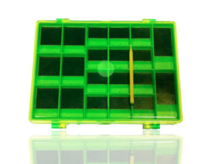 Krabička magnetická obojstranná na drobnosti