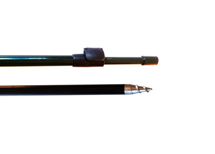 Stojan vidlička teleskopická závitová z duralu 16mm veľmi pevná