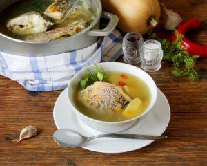 Recept na rybaciu polievku
