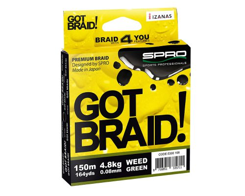 Snura-SPRO-GOT-BRAID-GREEN-150m