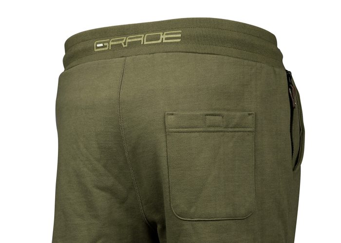 nohavice teplaky zadok detail